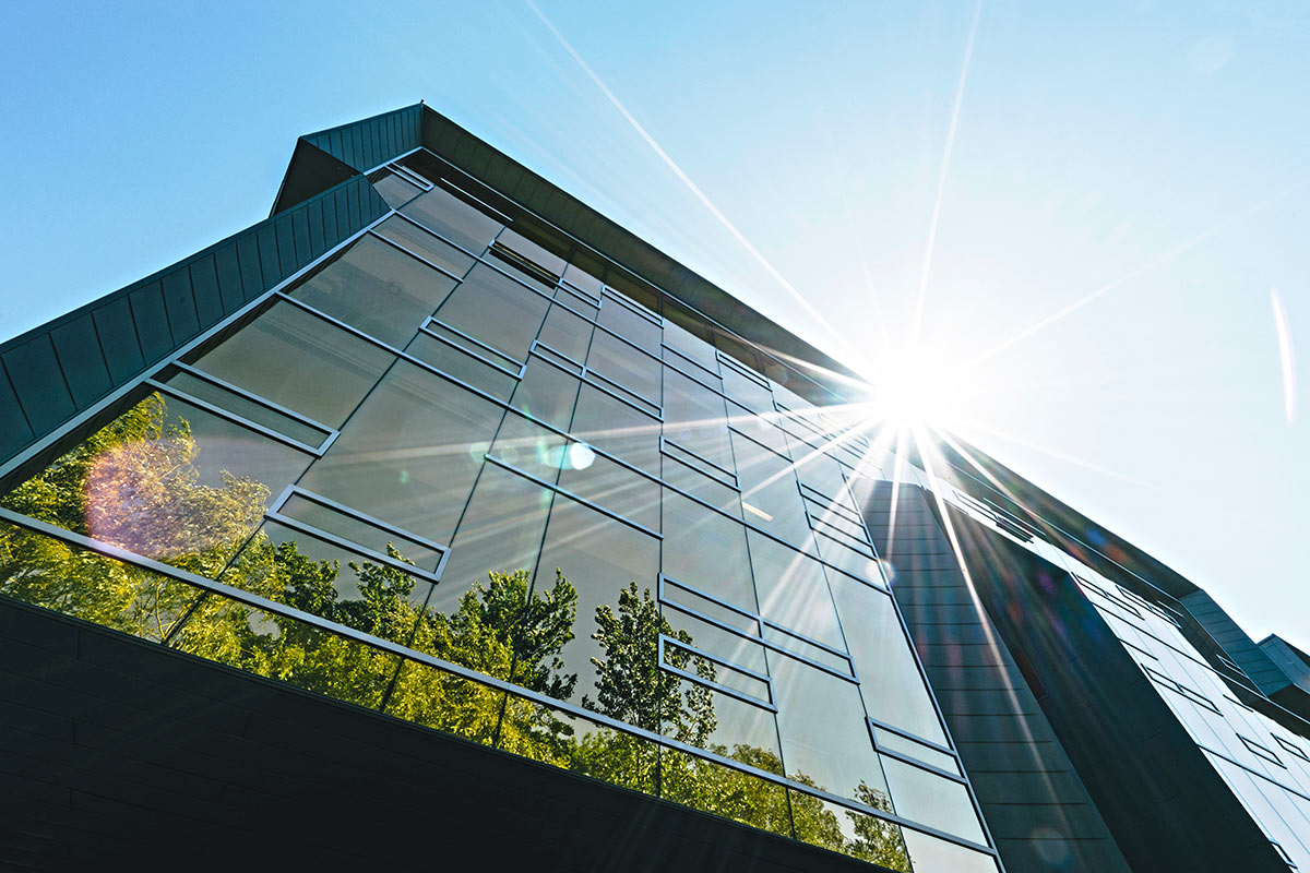 RF Window Films to Protect Buildings