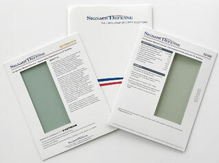 Window Film Product Samples