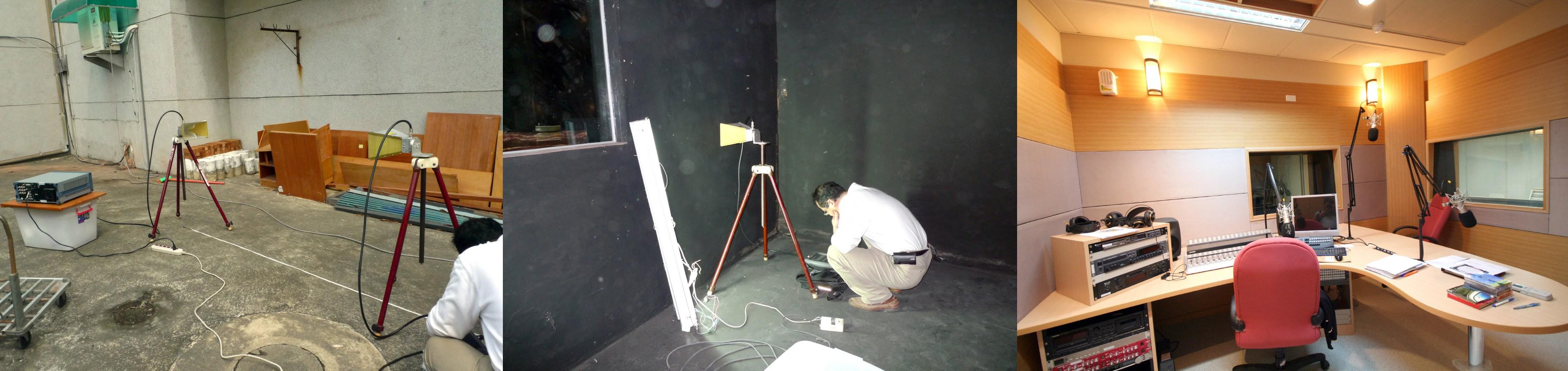 Recording studio uses RF Paint to optimize sound quality